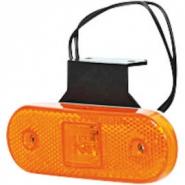 Lampa Boczna Pozycyjna Prostokątna Led 12-24v Z Przewodem I Uchwytem Kramp