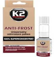 Uniwersalny Odmrażacz Do Paliwa Anti-Frost K2, 50 Ml