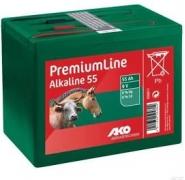 Bateria Alkaliczna Do Elektryzatora 9 V, 55 Ah Mała
