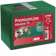 Bateria Alkaliczna Do Elektryzatora 9 V, 75 Ah Mała