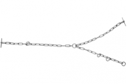 Łańcuch Żłobowy, O 6 Mm