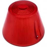 Klosz Lampy Wysoki We93, 22, Czerwony