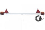 Zestaw Lamp Tylnych Na Belce, 1400-2100mm 7.5m