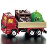Ciężarówka Z Pojemnikami Na Odpady, Siku